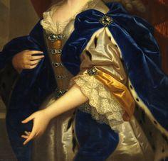 jaded-mandarin:María Josefa de Austria, Reina de Polonia. Detail.