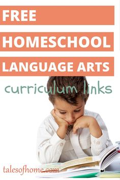 You can homeschool your kids for free. Check out these language arts course, curriculum, download & printable links on talesofhome.com!