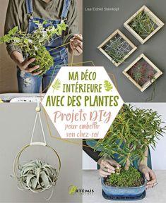 Cool Plants, Air Plants, Indoor Plants, Wooden Trellis, Gardening Magazines, Little Plants, Fun Projects, Houseplants, Plant Hanger