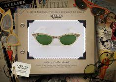 1950's www.ateliereyewear.com #glasses #style #luxury