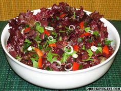 Purple Rain Salad - Raw Vegan and Gluten Free - 2 Βroke Vegans: http://2brokevegans.com/purple-rain-salad/