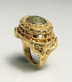 Finger Ring (of Agnes of Poitiers?), 1000s Germany,11th cent Cleveland Museum                                       Germany (Rhenish) or Mosan, 11th century