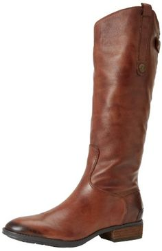 Sam Edelman Women's Penny Riding Boot -- Check this awesome image : Women's boots Tall Riding Boots, Knee High Boots, Sam Edelman Penny Boots, Leather Boots, Black Leather, Equestrian Boots, Cool Boots, Women's Boots, Partner