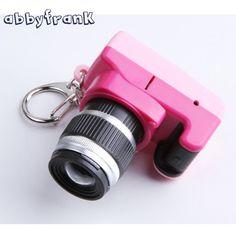 Abbyfrank Toy Camera Car Key Chain Kid Camera Toys