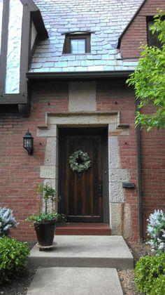 Tudor Front door