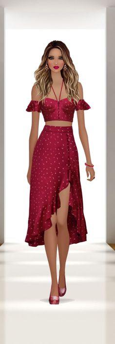 Covet Fashion, Womens Fashion, Modelos Plus Size, Look Boho, Fashion Figures, Maid Dress, Fashion Design Sketches, Pretty Dresses, Designer Dresses