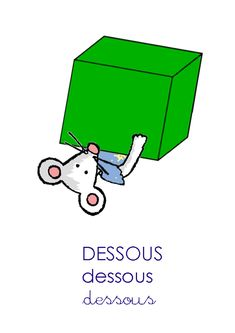 Affiche DESSOUS