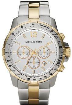 d17db2bba75b Michael Kors Quartz Grayson Chronograph White Dial Men s Watch MK8185  o   http