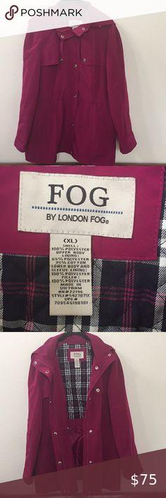 EUC London Fog Jacket Women's Size XL. Plus Fashion, Fashion Tips, Fashion Trends, Trench Coats, Jackets For Women, London, Sleeves, Closet, Color