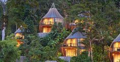 #Thai eco-resort delights guests with woven pods & other sublime dwellings — #Architecture #Thailand