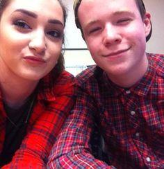 Georgia & Archie Selfie Challenge #apprenticeships #getingofar #chilternselfie