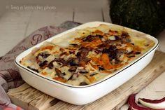 Rivisitate in chiave vegana queste lasagne al forno con radicchio di Treviso e zucca, ottima alternativa alle classiche al burro