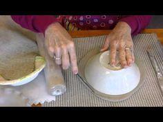 Make a Ceramic Bowl Step 1 - YouTube