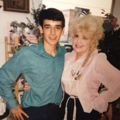 RIP Elly May Clampett today (Donna Douglas).  Here is a pic of the two of us from the mid 90's.