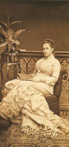 Queen Olga, 1875. by Greek Royalist, via Flickr