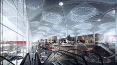 istanbul-new-airport_-airside-01 GRIMSHAW AND HAPTIC ARCHITECTS
