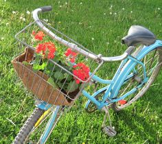 diy update metal bike basket | Request a custom order and have something made just for you.