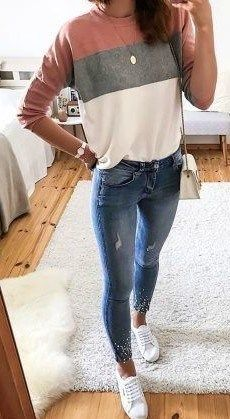 - casual outfits - goes with jeans. - casual outfits - goes with jeans. - The post 12 outfits casuales para el día a día appeared first on ub. 12 outfits casuales para el día a día Pin on Cute Outfits Outfit Jeans, Outfits Blue Jeans, Mode Outfits, Fashion Outfits, Woman Outfits, Fashion Ideas, Fashion Clothes, Skinny Jean Outfits, Blue Skinny Jeans Outfit