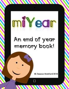 This end of year memory book brings a 21st century twist to your students' memories of the school year. Students will enjoy writing their memories on their printable iPads, tablets, iPods, and MP3 players. Pages included in set:All about memy teachermy classmy classroommy schoolmy friendsi've learnedmy favoritesfield tripthis yearsummer plansnext yearwhen I grow upautographsmemoriesIf you like what you see please follow me!