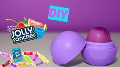 I hope you enjoyed this video and make this Jolly Rancher EOS! Lip Gloss Homemade, Homemade Moisturizer, Jolly Rancher, Eos Lip Balm, Lip Balms, Eos Products, Diy Makeup, Diy Beauty, Beauty Hacks