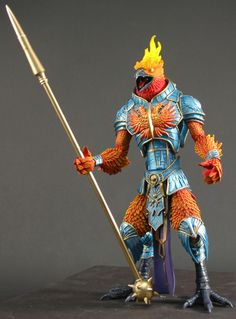 The Phoenix by Four Horseman Studios 3d Figures, Star Wars Action Figures, Custom Action Figures, Carnival Masks, Carnival Costumes, Manga Characters, Fantasy Characters, Character Concept, Character Design