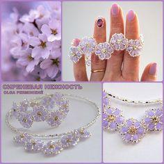 collar y pulsera... elegantes y hermosos                                                                                                                                                                                 Más