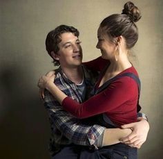 My girl Shai!!!! :)   Miles Teller and Shailene Woodley for The Spectacular Now