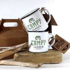 Mugs double émaillage #oldenglisgwhite #outdoor #certifiées