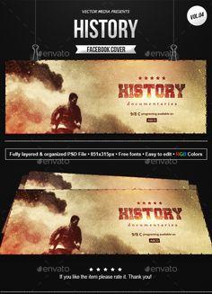 History - Facebook Cover [Vol.4]