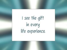 Daily Affirmation for March 28, 2014