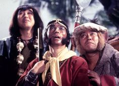 Monkaaaaaay! Monkey Magic - Japanese TV series based on the Chinese story 'The Journey To The West'.