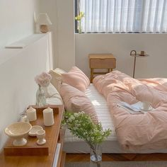 Room Makeover, Aesthetic Room Decor, Room Ideas Bedroom, Minimalist Room, Home, House Rooms, Room Inspiration, Apartment Decor, Pastel Room