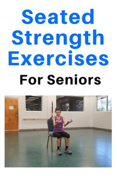 Seated Strength Workout Seated Strength Workout,Free Fitness Videos And Workouts Build muscle and keep bones strong with these seated strength exercises in a chair. Related posts:🏠🥑Lose Weight at Home. Get a personal meal plan. Balance Exercises, Chair Exercises, Back Exercises, Hip Workout, Strength Workout, Workout Videos, Fitness Diet, Health Fitness, Free Fitness