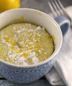 Lemon Mug Cake | Grab your favorite mug (make sure it's microwave-safe!) and try…
