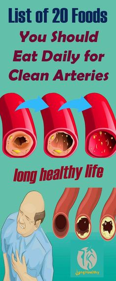 List of 20 Foods You Should Eat Daily for Clean Arteries