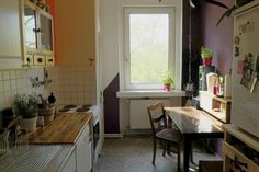 Kitchen Big sunny and fully-furnished room (for couples too!) in June! - Möblierte WG Berlin-Schöneberg