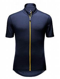 Men's Short Sleeve Merino Alpine Cycling Jersey | Vulpine