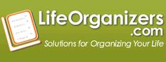 LifeOrganizers.com is a rich resource of office and home organizing articles, tips, and fresh, easy ideas on how to get rid of clutter from every part of your life, from the garage to your filing cabinet to your spiritual matters.