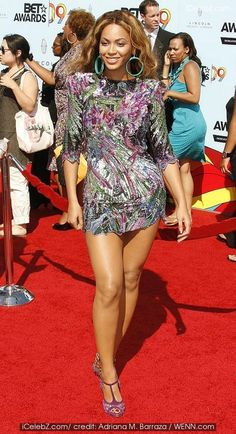 2009 BET Awards held at the Shrine Auditorium - Arrivals Beyonce Knowles photo