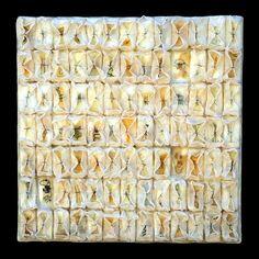 tangents - kathy miller | encaustic paper threads