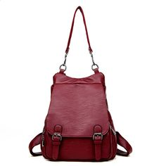 Different Cute Apple Slices Leather Backpack For Girls Cute Leather Backpack Drawstring Waterproof Ladies Shoulder Bags Daily Shoulder Bag For Women