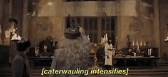 Dumbledore decides the best way to welcome Durmstrang and Beauxbatons is…through…karaoke?