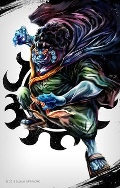 ONE PIECE:Jimbe by SUJIAYI on DeviantArt --- Jinbe, Jimbei