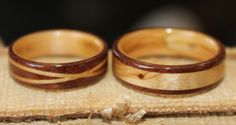 Wooden Engagement Rings | Wooden Rings from Touch Wood Rings: A Wedding Tree and Wooden Rings