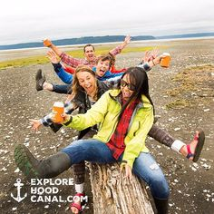 Did you forget this is the wild side of Washington? We did not! #wildsideWA #friends #fun #colorful #dosewallips #koozie #smiles #hoodcanal #explorehoodcanal #olympicpeninsula #instagood #love #cool #travel #nature #photooftheday #art #girl #amazing #friends #colorful #beautiful #beach