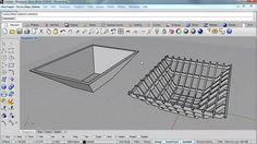 Learn how to slice an existing Rhino model into a series of flat puzzle pieces using Grasshopper.     You can download the Grasshopper definition as well from here...   http://files.na.mcneel.com/grasshopper/1.0/samples/en/3D_Puzzle_Magic_BJames.ghx    Enjoy!     www.Grasshopper3D.com  www.Rhino3D.com