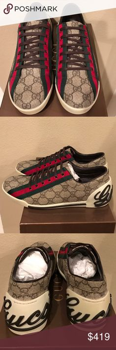 ❤️AUTHENTIC: New/never worn GUCCI sneakers❤️ AUTHENTIC: New/never worn. GUCCI sneakers. Size 38. With original box and dust bags. Gucci Shoes Sneakers