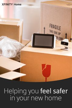 Protect your new home and look after your family from anywhere starting on move day.