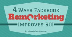 Have you run remarketing campaigns on Facebook? Remarketing is a tactic that lets you advertise to people who have visited your website and shown interest in your product or service.