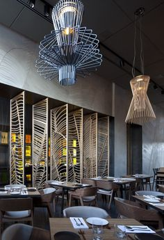 Taizu Restaurant in Tel Aviv, Pitsou Kedem Architects